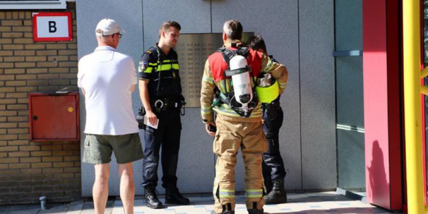 Brandweer onderzoekt in Vlaardingen herkomst benzinelucht