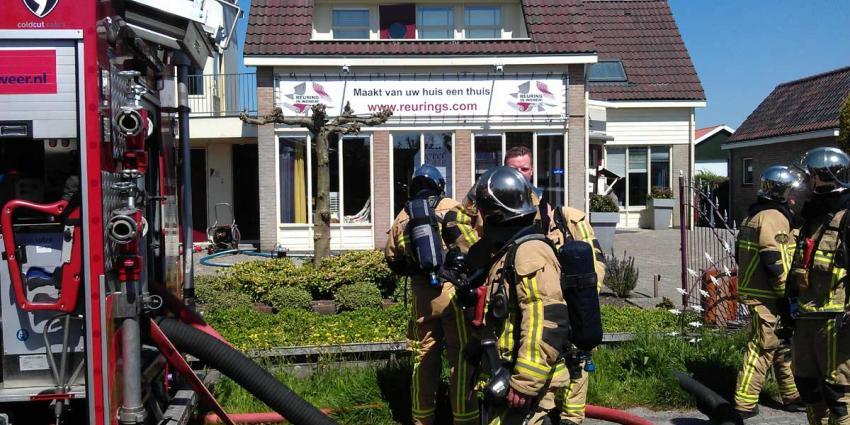 'Mogelijke middelbrand' woning de Kwakel blijkt mee te vallen
