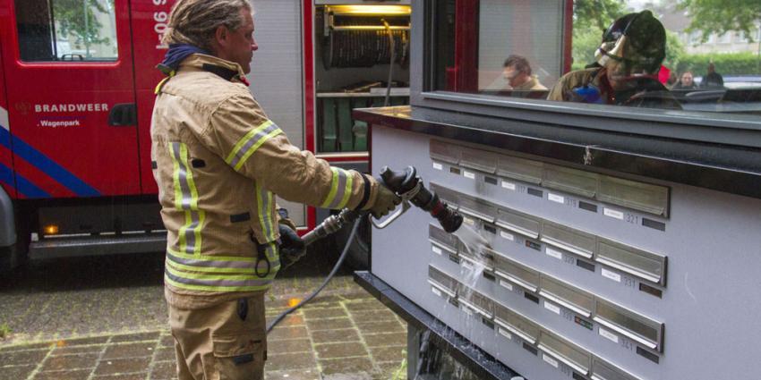 Onderzoek naar brandstichtingen in Vlaardingen