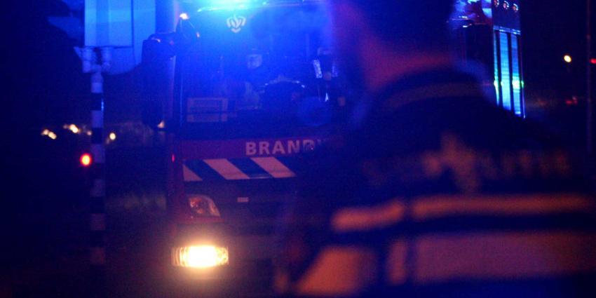 Gewonden door brand in flat Rotterdam