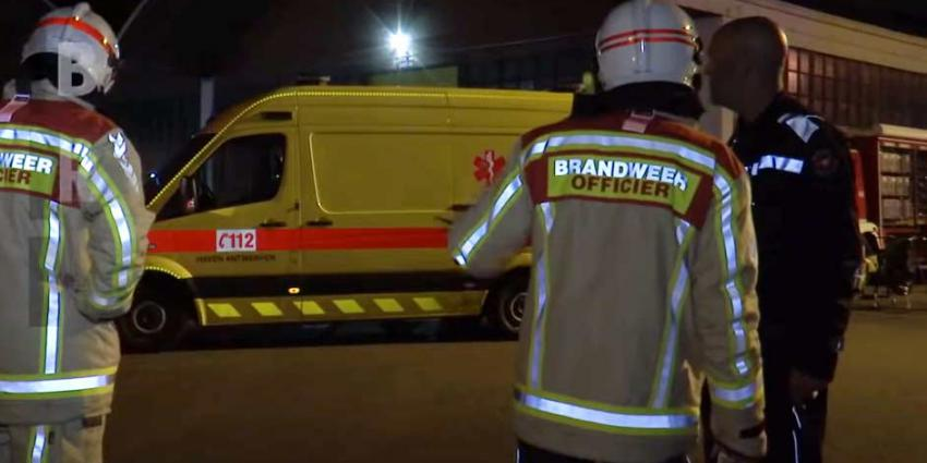 Rampenfase in Antwerpen afgekondigd om brand