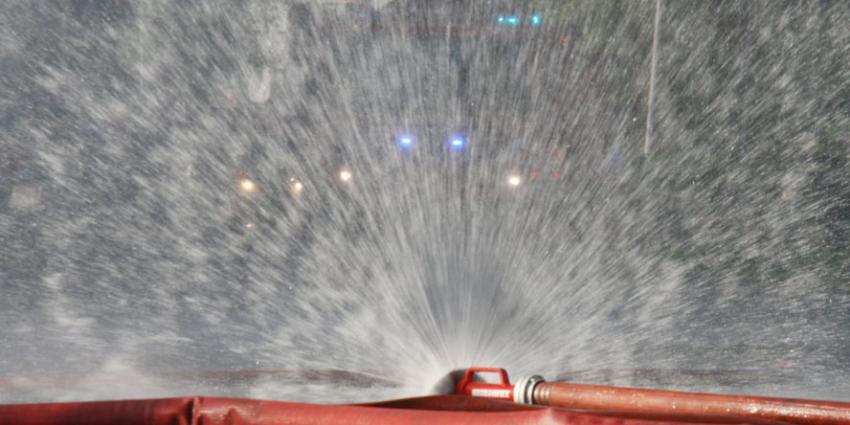 Brandweerman gewond bij grote brand in Kerkrade
