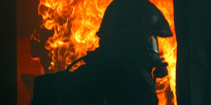 Grote brand in schoolgebouw Enkhuizen