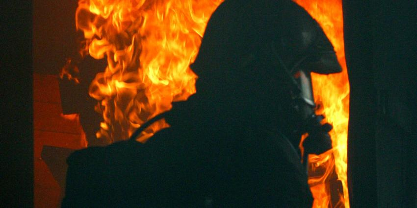Grote brand in bedrijf Staphorst