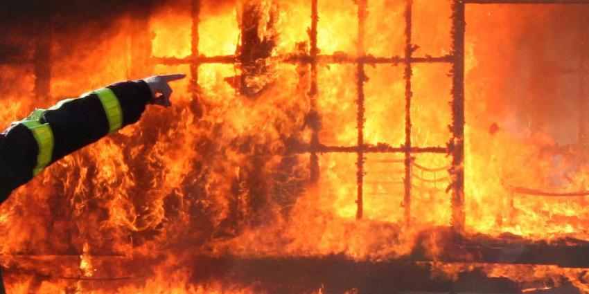 Brand verwoest villa van Stichting iXzelf in Tilburg
