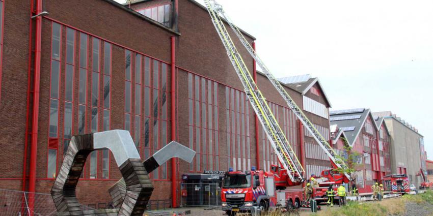 brandweer-dakbrand