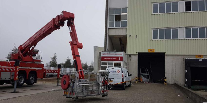Twee zwaargewonden na gasexplosie bedrijfspand Veghel