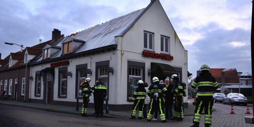 Brandmelding leegstaand pand centrum Boxtel