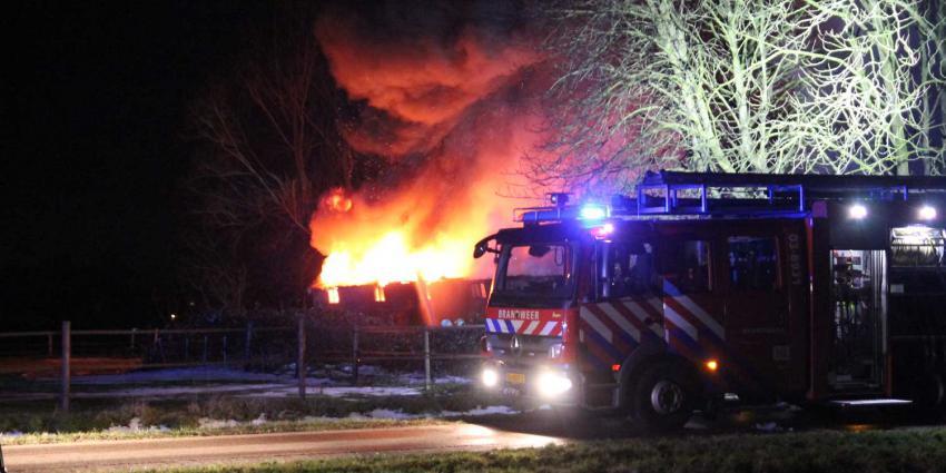 brandweer-schuurbrand
