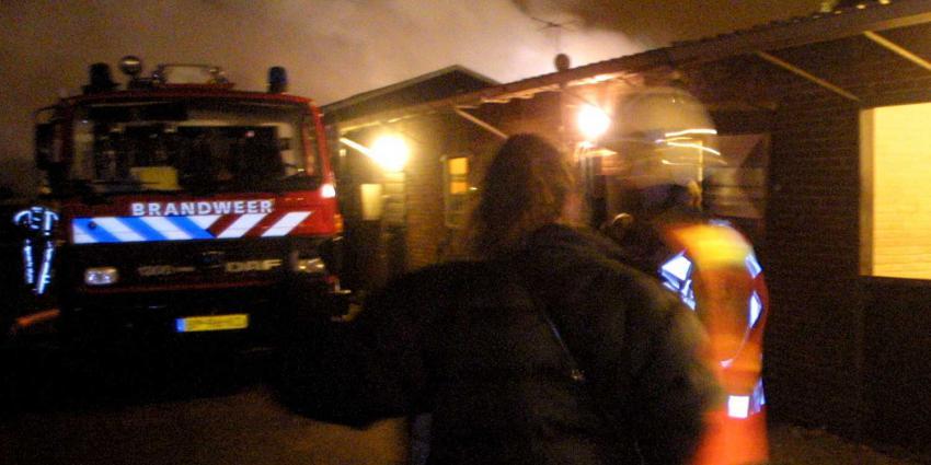 Paarden gered bij brand manege Leiden