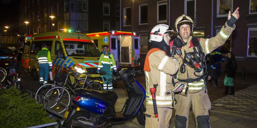 Gewonde bij brand in Schiedam