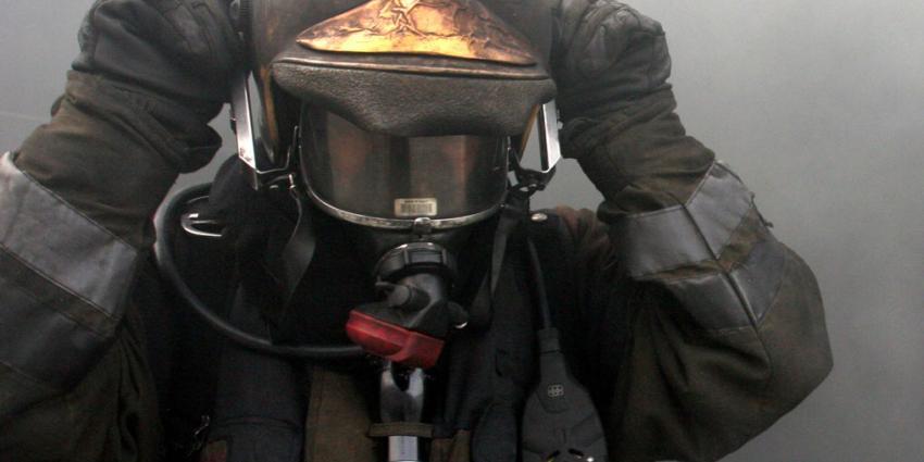 Kalveren veilig na grote brand in schuur Noordeloos
