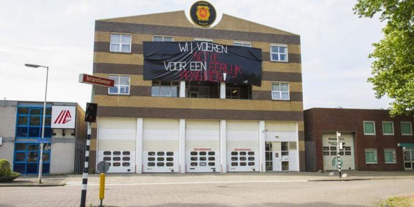 De brandweer is boos