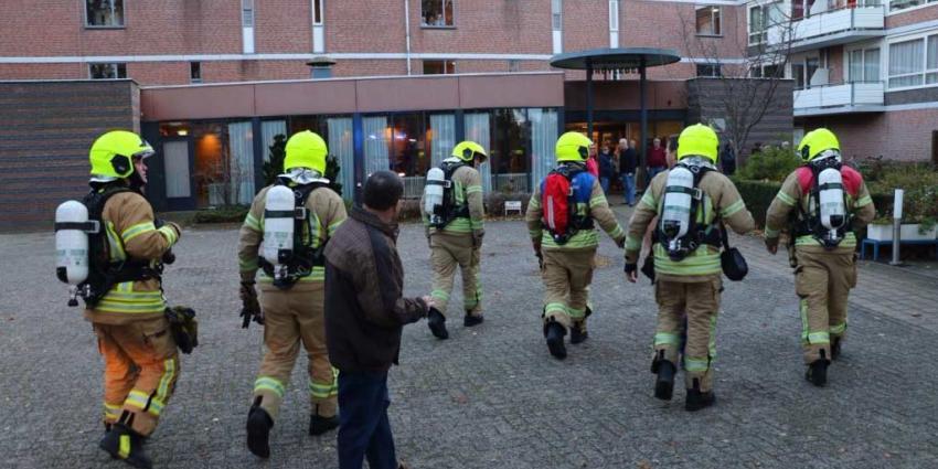 Evacuatie na brand in wooncomplex in Vlaardingen