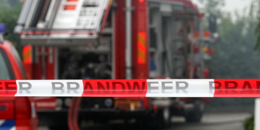 Grote brand bejaardenhuis in Hilversum