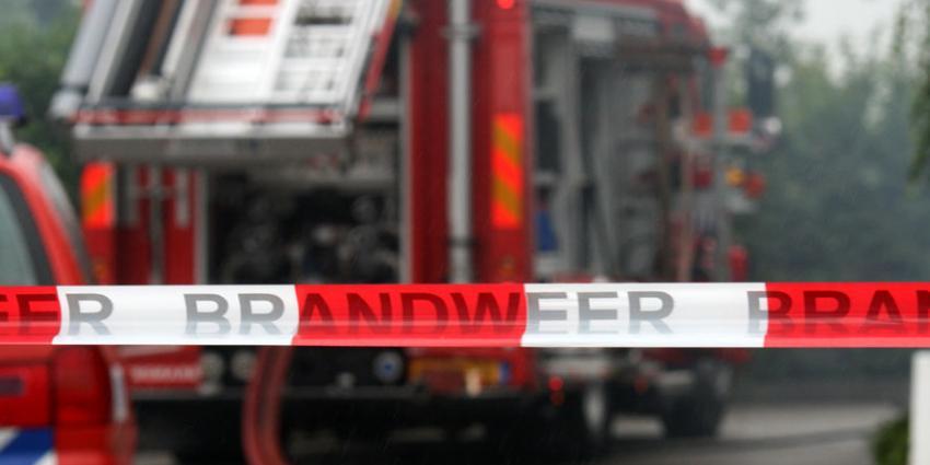 Grote brand in fietenswinkel Ridderkerk