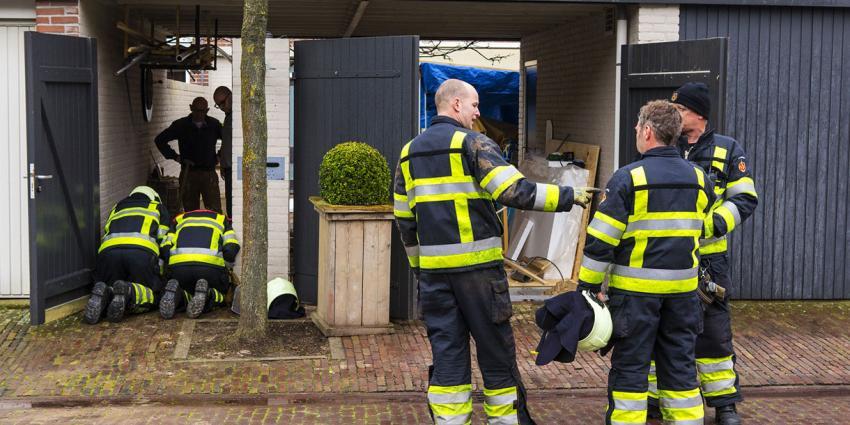Brandweer in actie om gaslek in Oirschot