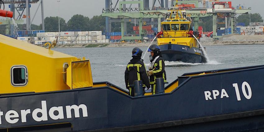 Speciaal team voor branden op schepen