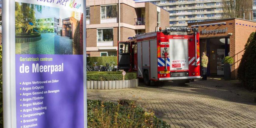 Twee lichtgewonden bij brand verzorgingstehuis Vlaardingen