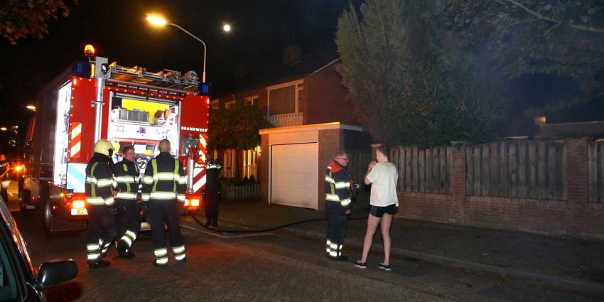 Woningbrand blijkt brandende tuinpergola