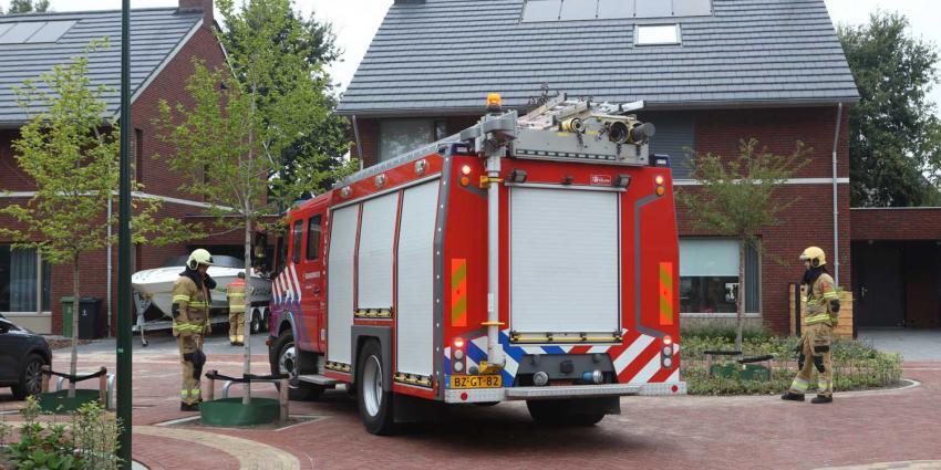 brandweerauto-woning