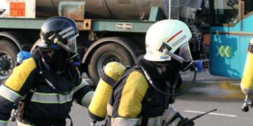 Luchtalarm bij grote brand Kampen