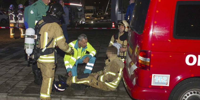 Gewonden bij grote brand in Schiedam