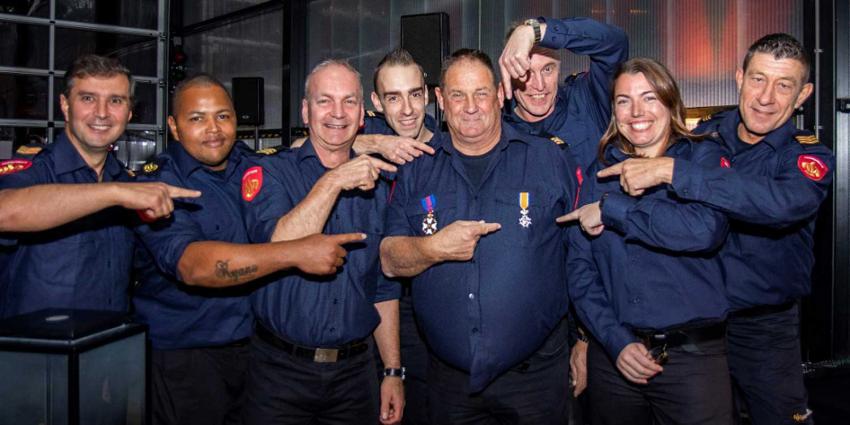 Koninklijke onderscheiding voor brandweerman Rob
