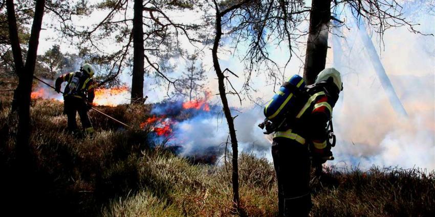 Meer code oranje voor vrees op brand in droge natuurgebieden