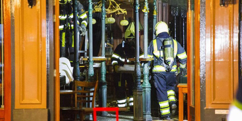 Veel schade na brand bij horecapand in Schijndel