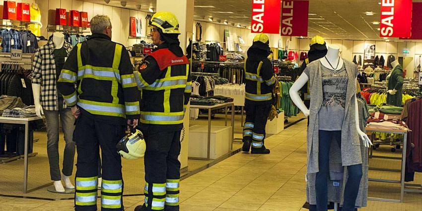 Brandgerucht bij Zwitserse winkelketen Charles Vögele in Boxtel