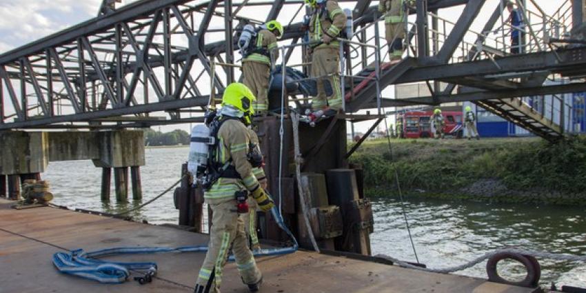 Grootschalige oefening brandweer Schiedam
