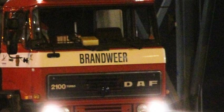 Brandstichting in woning via brievenbus