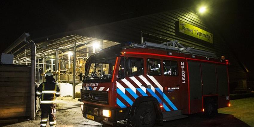 Foto van brand in activiteitenboerderij | Persburo Sander van Gils | www.persburausandervangils.nl