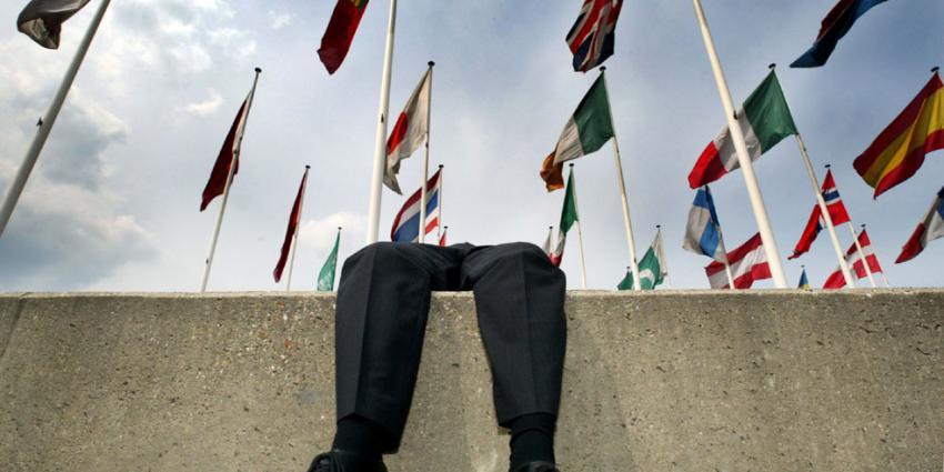 Foto van vlaggen Europese Unie