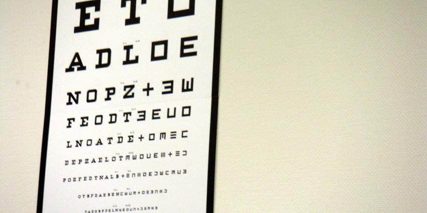 foto van oogmeting bril | fbf