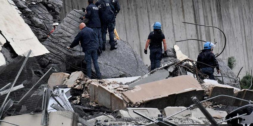 Dodental ingestorte brug Italië loopt op naar 22