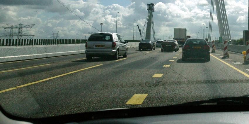 Afsluiting Zeelandbrug vanwege werkzaamheden