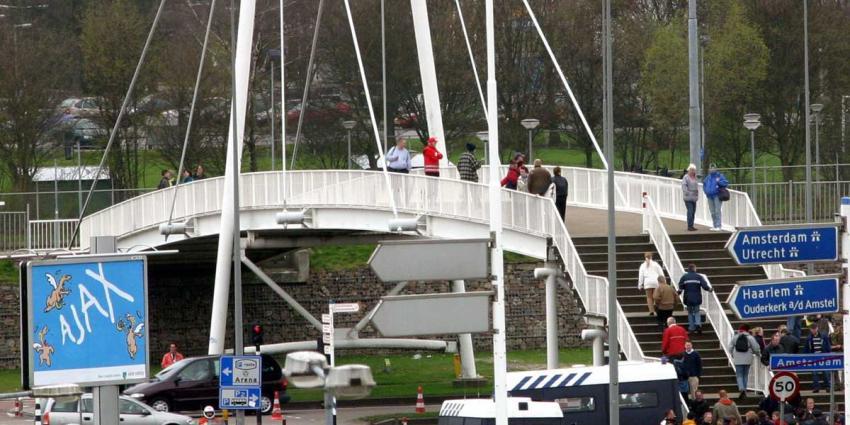 NS waarschuwt Ajax-supporters, kom niet met de trein naar ArenA