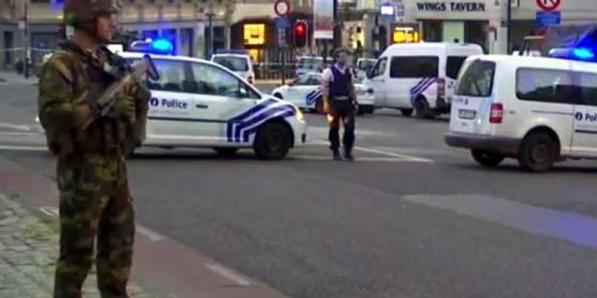 Militairen schieten met mes aanvallende man neer in Brussel