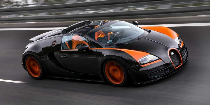 Foto van Bugatti Veyron Vitesse   PON/Bugatti