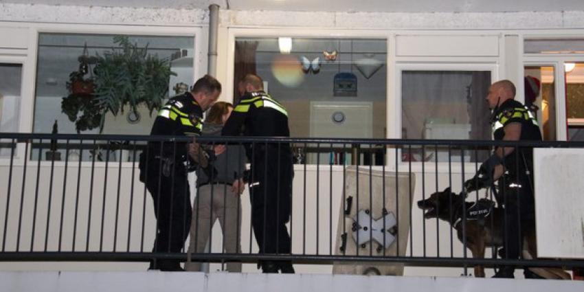 Man aangehouden na burenruzie
