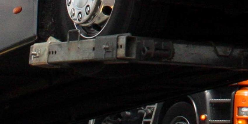 Foto van bus slepen ongeval | Archief EHF