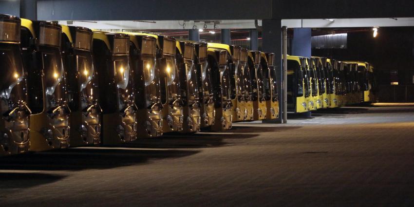 Staking openbaar vervoer wordt ook het weekend en daarna voortgezet