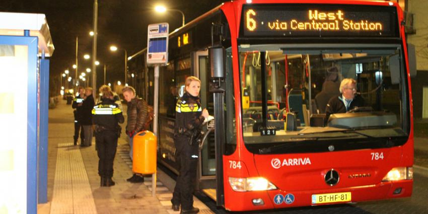Weer buschauffeur overvallen met mes in Tilburg