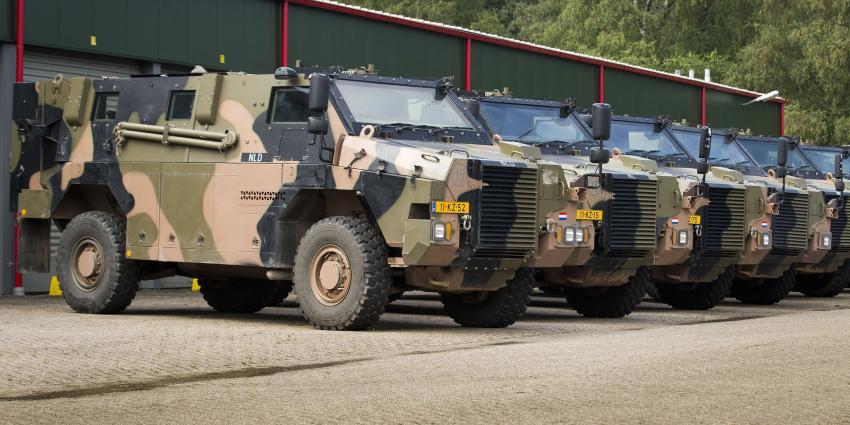 12 nieuwe Bushmasters voor Defensie