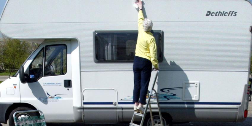 Twee keer zoveel campers in Nederland sinds 2006