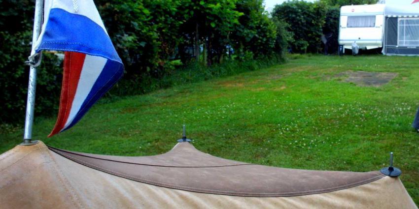 Meer campinggasten in eerste halfjaar 2018