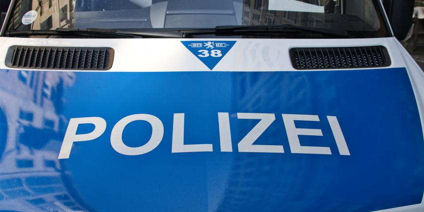 Duitse politieauto