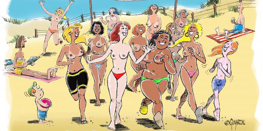 Cartoon topless